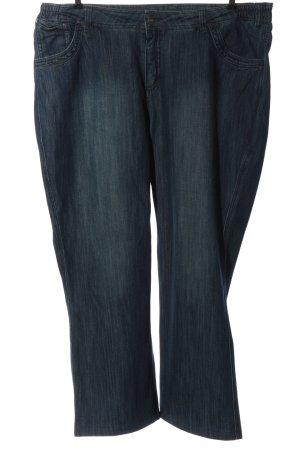 Jeansy biodrówki niebieski W stylu casual