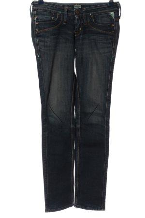 Brappers Jeans vita bassa blu stile casual