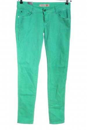 Low Rise jeans groen casual uitstraling