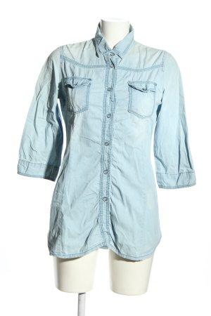 Jeanshemd blau Casual-Look