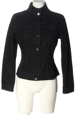 Denim Jacket black casual look