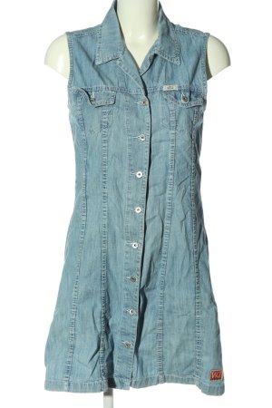 Jeansjurk blauw casual uitstraling