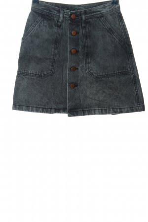 yimeixuan jeans Jeansrock blau Casual-Look