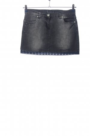 Jeansrock blau Casual-Look