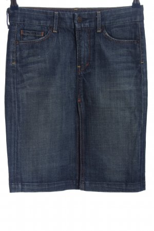 Seven for all Man kind Jeansrock blau Casual-Look