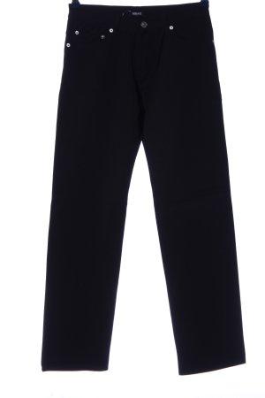 Versace Jeans Jeansowe spodnie dzwony czarny W stylu casual