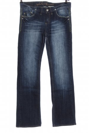 Sophisticated Jeansschlaghose blau Casual-Look