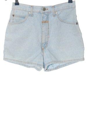 E 605 Jeansowe szorty niebieski W stylu casual