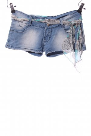 Jeansshorts blau-hellgrau Casual-Look