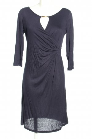 Simplicity New York Jerseykleid blau Casual-Look
