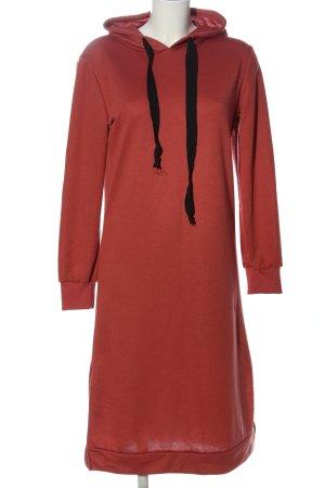 HA 7DNO Robe à capuche rouge style décontracté