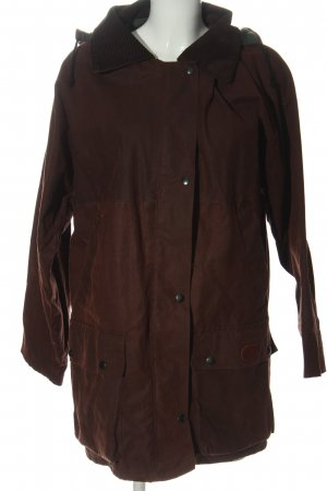 oxford Płaszcz z kapturem brązowy W stylu casual