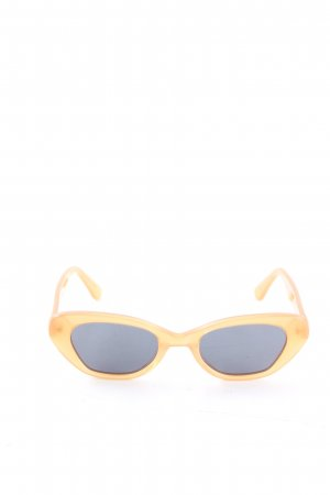 Raie Eyewear Karée Brille blassgelb-blau Casual-Look