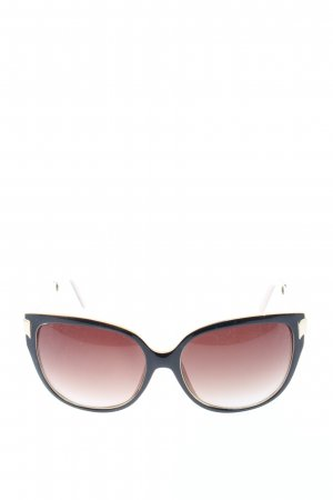 Vierkante bril zwart casual uitstraling
