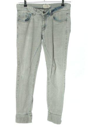 Lukasz Jemiot Jeans carotte bleu style décontracté