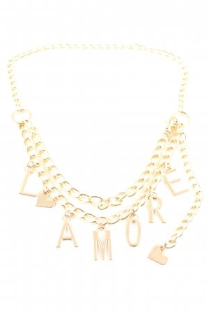 Chain Belt gold-colored elegant