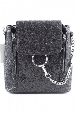 Kindergarden Backpack black glittery