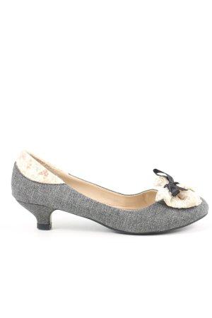 Zapatos Informales gris claro moteado look casual
