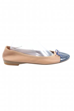 Le Matin Klassische Ballerinas nude-blau Casual-Look