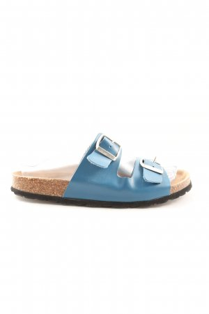 Komfort-Sandalen blau Casual-Look
