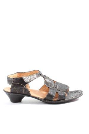 Think! Comfortabele sandalen zwart-room casual uitstraling
