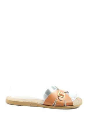 Salt-Water Comfort Sandals light orange-natural white casual look