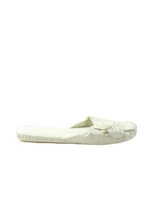 Komfort-Sandalen weiß Casual-Look