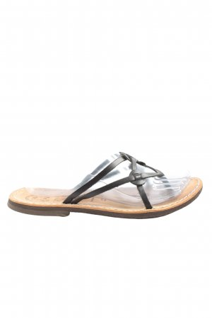 Cuoio&co Komfort-Sandalen schwarz Casual-Look