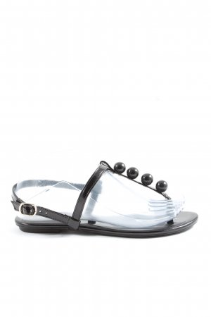 Sua Cia Calçados Komfort-Sandalen schwarz Casual-Look
