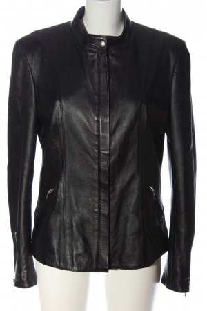 Tocco exclusive Faux Leather Jacket black casual look