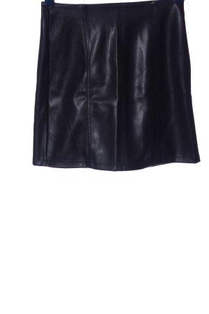 Miss Selfridge Faux Leather Skirt black casual look