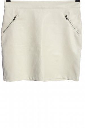 pixie daisy Faux Leather Skirt white casual look