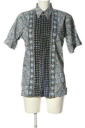Fay's Batik art Shirt met korte mouwen volledige print casual uitstraling