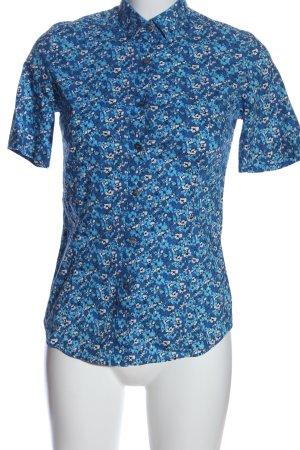 tracta Camisa de manga corta estampado floral look casual