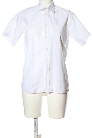 Shirt met korte mouwen wit zakelijke stijl