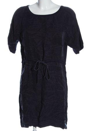Sukienka z krótkim rękawem niebieski Elegancki