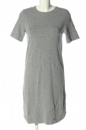 COUNTRY ROAD Shortsleeve Dress light grey flecked casual look