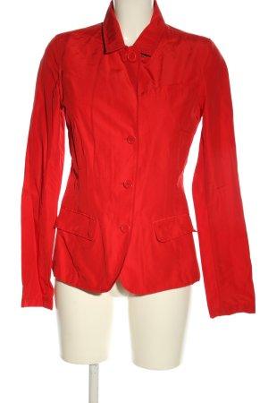 Woolrich Kort jack rood casual uitstraling