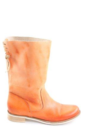 cushla white Krótkie buty jasny pomarańczowy W stylu casual