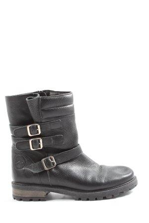 Krótkie buty czarny W stylu casual