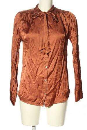 Mint&berry Langarm-Bluse hellorange Casual-Look