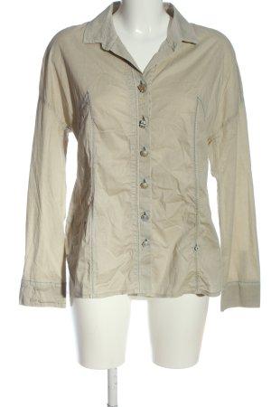 Elisa Cavaletti Long Sleeve Shirt natural white flecked casual look