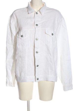 Backstage Chemise à manches longues blanc style décontracté