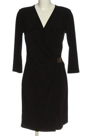Luxology Langarmkleid schwarz Elegant