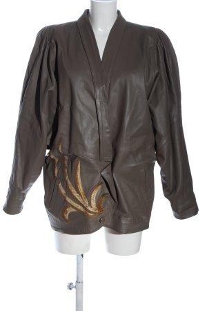 lemod Leder-Blazer mehrfarbig Casual-Look