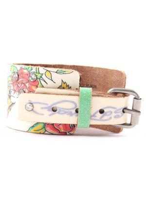 Lederen armband prints met een thema casual uitstraling
