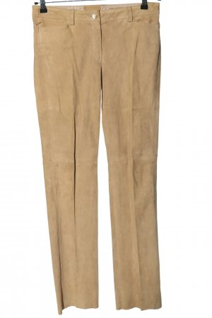 schacky and Jones Leather Trousers brown casual look