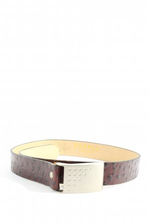 People collection Faux Leather Belt brown business style