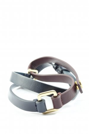 TB Faux Leather Belt light grey-brown casual look