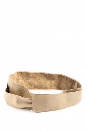 Vera Pelle Faux Leather Belt natural white casual look